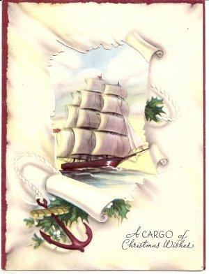 1947 Elegant Christmas Greeting
