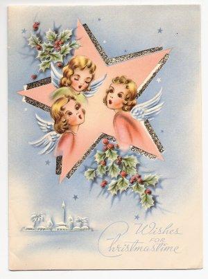 1930s Christmas Greeting