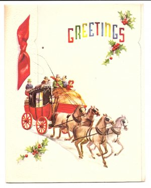 1940s Christmas Greeting