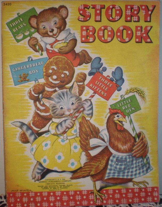 1941 Merrill Publishing Children's Story Book