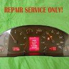 AUDI A4 S4 A6 S6 INSTRUMENT SPEEDOMETER CLUSTER DASH DIM  - REPAIR SERVICE