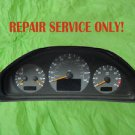 2085405711,  Mercedes Benz Whole Instrument Cluster Repair