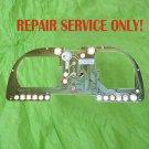62111377634,BMW  Cluster Board Conductor Plate for E23, E24, E28 Series Repair