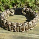 9 Inch Desert Camo Paracord Bracelet
