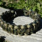 9 Inch Multi Camo Paracord Bracelet