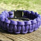 9 Inch Purple Paracord Bracelet