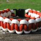 9 Inch University of Texas Themed Paracord Bracelet