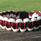 9 Inch Texas A&M Themed Paracord Bracelet