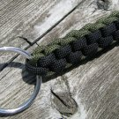 Black & Olive Drab Paracord Key Chain