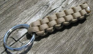 Desert Tan Paracord Key Chain