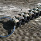 Multi Camo & Black Paracord Key Chain