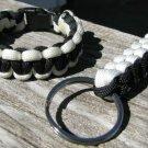 8 Inch POW/MIA Paracord Bracelet & Key Chain