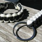 9 Inch POW/MIA Paracord Bracelet & Key Chain