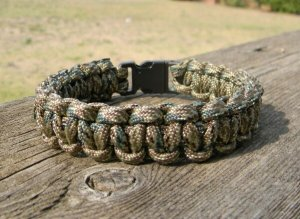 7 Inch Digital Multi Camo Paracord Bracelet