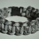 8 Inch Gray Camo Paracord Bracelet