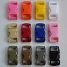 "100 3/8"" Multi Color Side Release Buckles - You Choose Colors"