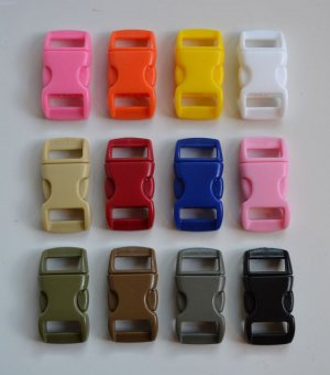 "50 3/8"" Multi Color Side Release Buckles - You Choose Colors"