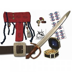 Pirates 2 Jack Sparrow's Pirate Gear