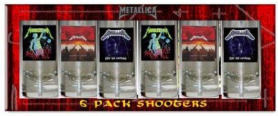Metallica Logo Shot Glasses
