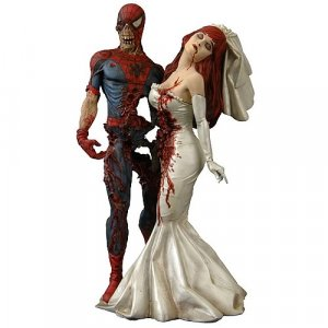 Marvel Milestones Zombie Spider-Man & Mary Jane Statue