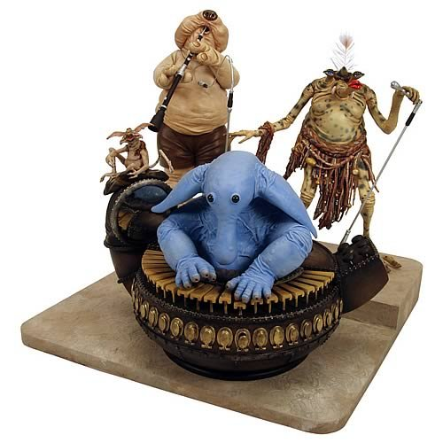Star Wars Jabba's Palace Max Rebo Band Statue