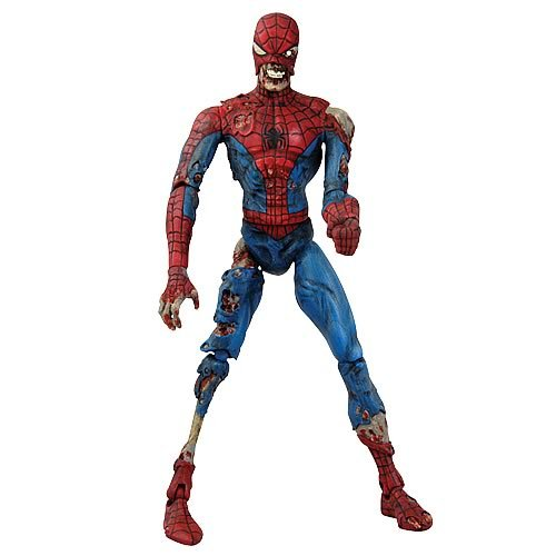Marvel Select Zombies Spider-Man Action Figure