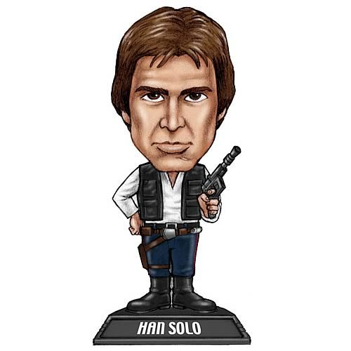 Star Wars Han Solo Bobble Head