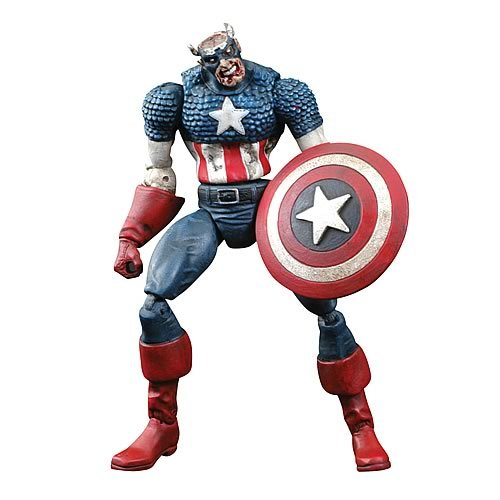 Marvel Select Zombies Colonel America Action Figure