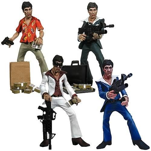Scarface Stylized Rotocast Action Figures