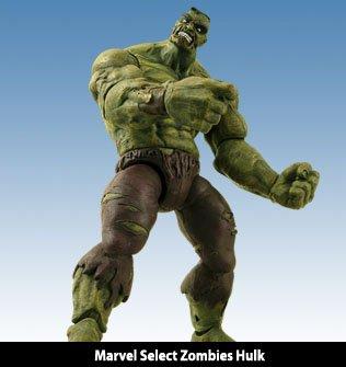 Marvel Select Zombies Incredible Hulk