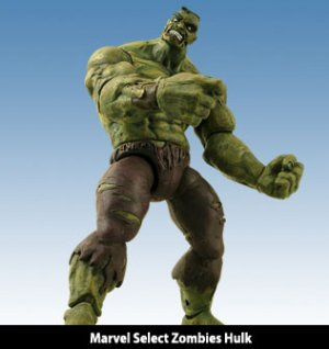 Marvel Select Zombies Incredible Hulk