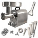 Weston / #32 Stainless Steel Pro-Series Electric Meat Grinder & Sausage Stuffer