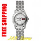 Gucci YA055513 Ladies 5500 G White Dial Stainless Steel