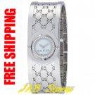 Gucci YA112511 Ladies Series 112 Twirl Bangle Style with Diamonds