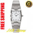 Bulova 96P000 Ladies Stainless Steel Dress Watch with Diamonds