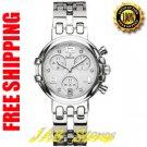 Bulova 96P003 Ladies Marine Star White Dial Chronograph with Diamonds