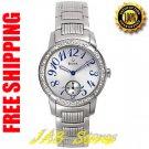 Bulova 96R001 Ladies Stainless Steel Diamond Dress Watch