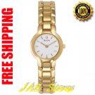 Bulova 97V20 Ladies Gold Tone Dress Watch