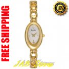 Bulova 97V21 Ladies Gold Tone Dress Watch