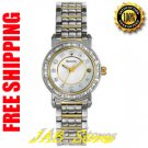 Bulova 98R104 Ladies Two Tone Stainless Steel Mother of Pearl Dial