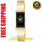 Citizen EG2492-53E Ladies Gold Tone Silhouette Eco-Drive Bangle Bracelet with Diamonds