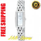 Citizen EG2640-58D Ladies Stainless Steel Eco-Drive Silhouette with Diamonds Mother of Pearl Dial