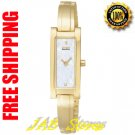 Citizen EG2652-59D Ladies Gold Tone Eco-Drive Silhouette Bangle style Mother of Pearl Dial