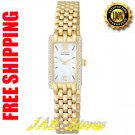 1Citizen EG2662-55D Ladies Gold Tone Silhouette Eco-Drive with Swarovski Crystals Mother of Pearl