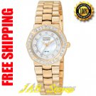 Citizen EP5833-58D Ladies Rose Gold Tone Stainless Steel Serano Eco-Drive w/Diamonds & Mother of