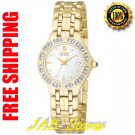 Citizen EW0692-51D Ladies Gold Tone Stainless Steel Lucca Eco-Drive with Diamonds