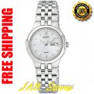 Citizen EW3120-59A Ladies Stainless Steel Corso Eco-drive Silver Dial