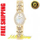Citizen EW8722-59D Ladies Gold Tone Silhouette Eco Drive With Swarovski Crystals