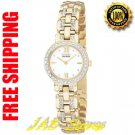 Citizen EW9142-53A Ladies Gold Tone Stainless Steel Silhouette with Swarovski Crystals