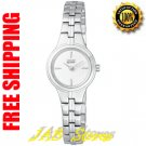 Citizen EW9560-53A Ladies Stainless Steel Eco-Drive Silhouette White Dial